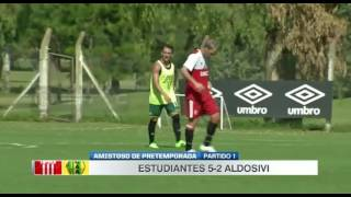 Estudiantes 5 // Aldosivi 2 (amistoso)