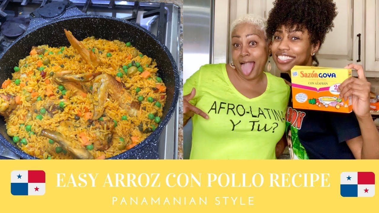EASY ARROZ CON POLLO RECIPE| AFRO-PANAMANIAN STYLE