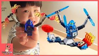 레고 넥소나이츠 얼티밋 위험 빠진 미니를 구해주세요 ♡ 넥소나이츠 레고 장난감 놀이 Lego Nexo Knights Kid Play Toys | 말이야와아이들 MariAndKids
