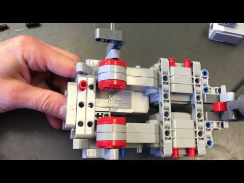 Building a Lego ev3 Robot from Base Kit for FIRST LEGO League (FLL)