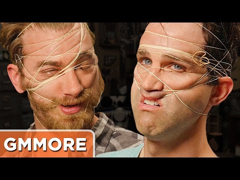 Rubber Band Face Challenge