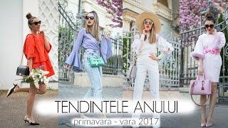 Ce purtam in 2017 Tendinte primavara - vara