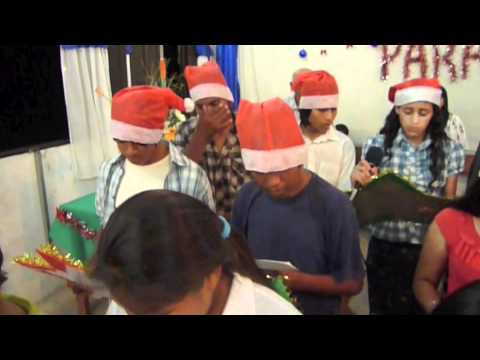 Christmas song in Nala, Argentina