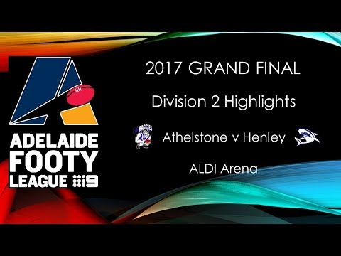 Adelaide Footy 2017 Grand Final Div 2 Athelstone v Henley highlights