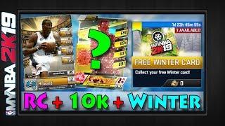 RC RESULTS + 10K REWARD + FREE WINTER CARD   Rivals Clash Star Resets & Pull Rates   MYNBA2K19