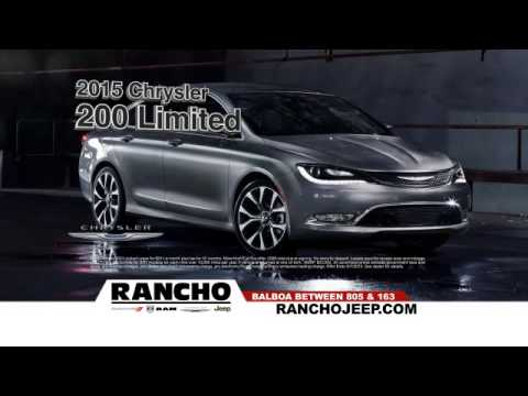 0 Percent APR @ Rancho Chrysler Jeep Dodge RAM !