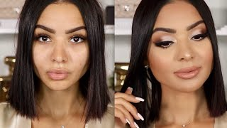 ALL DAY LONG LASTING NEUTRAL MAKEUP | Diana Saldana