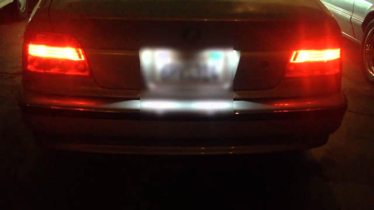 LED Brake Stop Whith No Load Resistors 1997 2000 BMW 5 SERIES E39 528I 525I 530I 540I M5