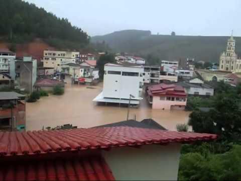 ENCHENTE DE RIO BANANAL ES