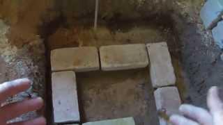 видео Как копать фундамент под печку