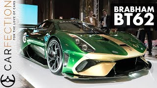 Brabham Is Back! Bt62, A £1m, Track Only Hypercar - Carfection