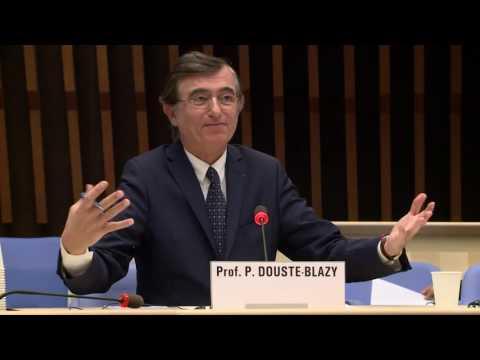 OMS : Professeur Philippe Douste-Blazy au forum des candidats au poste de Directeur genéral