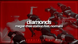 diamonds || megan thee stallion feat. normani || traducida al español + lyrics
