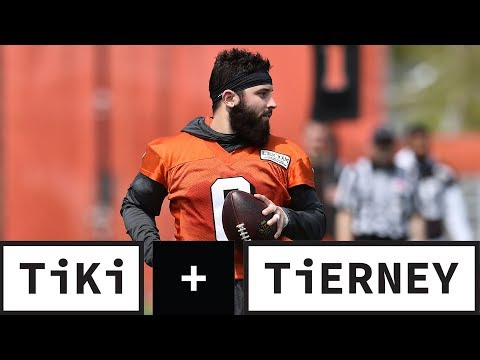Baker Mayfield Takes Shot At Giants Fans | Tiki + Tierney