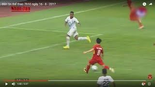 Tin Thể Thao 24h Hôm Nay (7h - 16/8): Bảng B SEA GAMES 29 - Việt Nam Độc Chiếm Ngôi Đầu Bảng