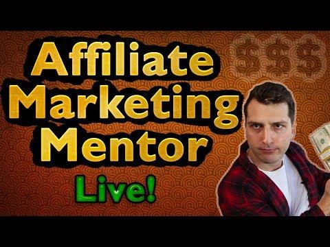 Affiliate Marketing Mentor LIVE! ($100 Giveaway @7pm EST)!