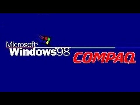 A Nostalgic Christmas: Windows 98 & Compaq Deskpro EN