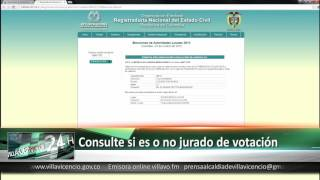 Consulte si es o no jurado de votación 6 Octubre 2015