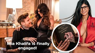 Mia Khalifa is finally engaged!