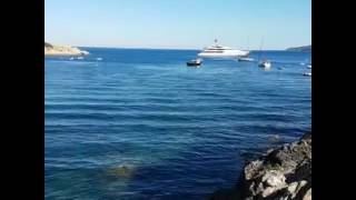 La spiaggia di Barbarossa a Porto Azzurro Elba