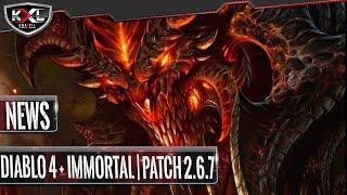 DIABLO NEWS - Diablo 4 auf der BlizzCon | Diablo Immortal Release Ende Oktober | Patch 2.6.7
