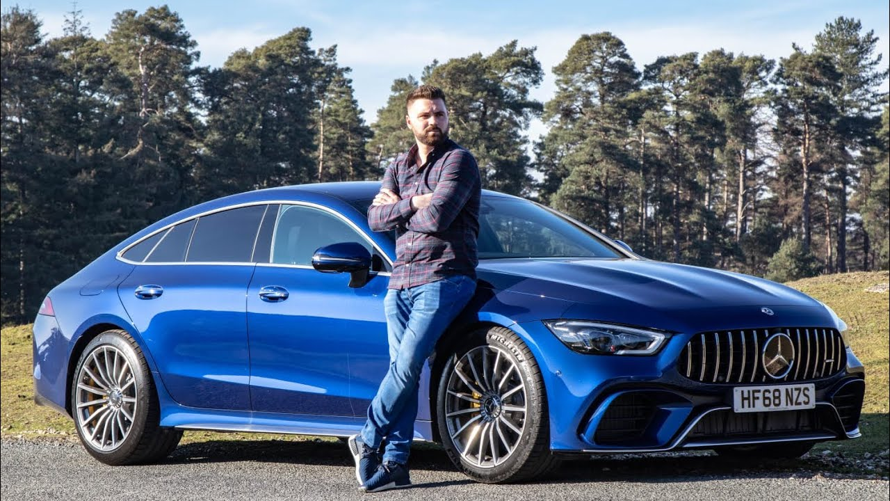 Mercedes 2019 AMG GT63S 4 Door Coupe Review - YouTube