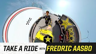 Ride with Fredric Aasbo | 360 VR Video