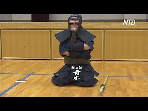 70-летний японский мастер кэндо пронесёт Олимпийский огонь в Фукуоке
