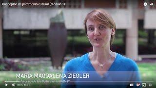 Conceptos de patrimonio cultural (Módulo 1)