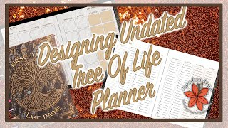 Undated Planner Tree of Life