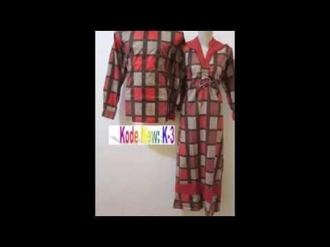 Trend Fashion Sarimbit Gamis Batik Terbaru