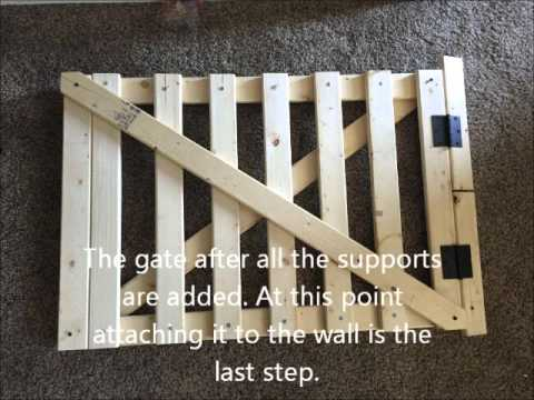 Dog Gate For Stairs Youtube