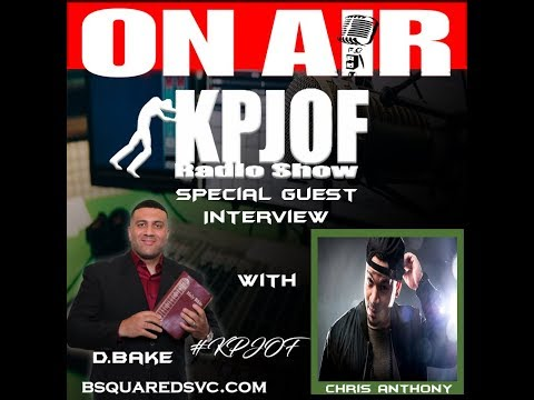 KPJOF Interview with Chris Anthony