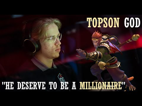 OG.Topson's MONKEY KING PLAYER PERSPECTIVE VS LIQUID GAME 2 - HE DESERVE TO BE A MILLIONAIRE