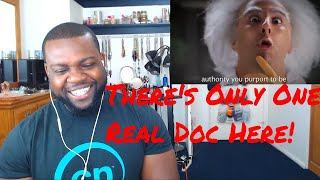 Doc Brown Vs Doctor Who  Epic Rap Battles Of History Reaction