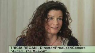 """Autism: The Musical"" film/interview clip Tricia Regan"