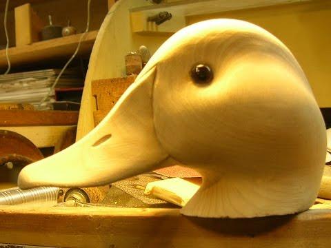 Decoy Carving: Decoy Head Power Carving, Part 1