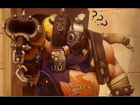 Overwatch Girl Fanart Wallpaper Overwatch With Friends 2 Roadhog Face Reveal Youtube