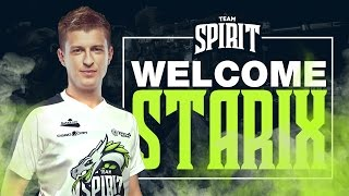 Team Spirit - Welcome Starix!