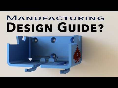 """Why you need a """"Design Guide"""" to manufacture a product!"""