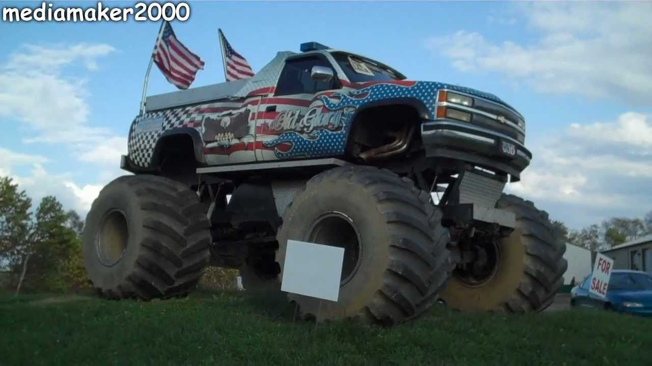 Monster Truck For Sale Youtube