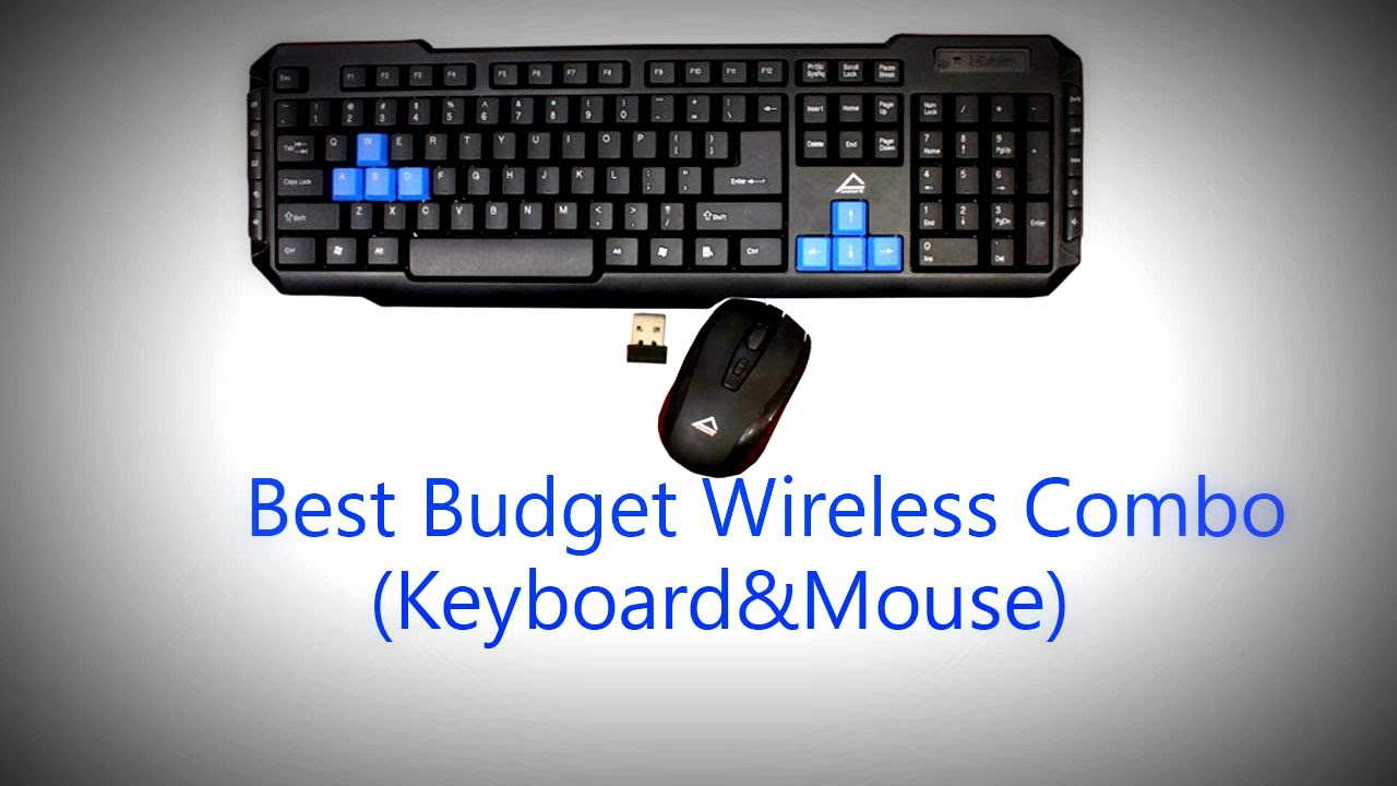 best budget multimedia wireless combo keyboard mouse unboxing review youtube. Black Bedroom Furniture Sets. Home Design Ideas