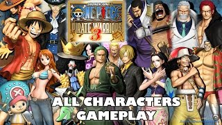One Piece Pirate Warriors 3 All Characters Gameplay | ワンピース 海賊無双3