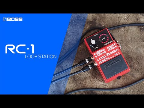 RC-1 Loop Station performed by Joe Robinson