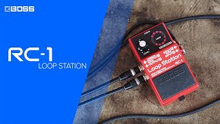 RC-1 Loop Station performed by Joe Robinson Thumbnail