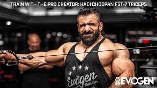 Train with The Pro Creator: Hadi Choopan Hits FST-7 Triceps in Dubai