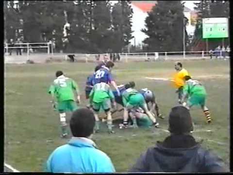 Rugby Bompas Seniors contre Ponteilla  Le 24 Février 2002 Saison 2001/2002