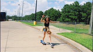 TURNING INTO A SKATER GIRL FOR A DAY