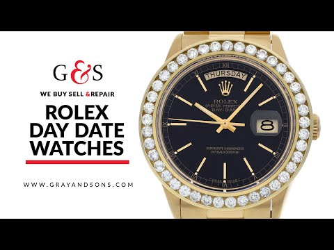 Used Rolex Day Date President Watches | Buy Sell Repair | Gray & Sons Jewelers