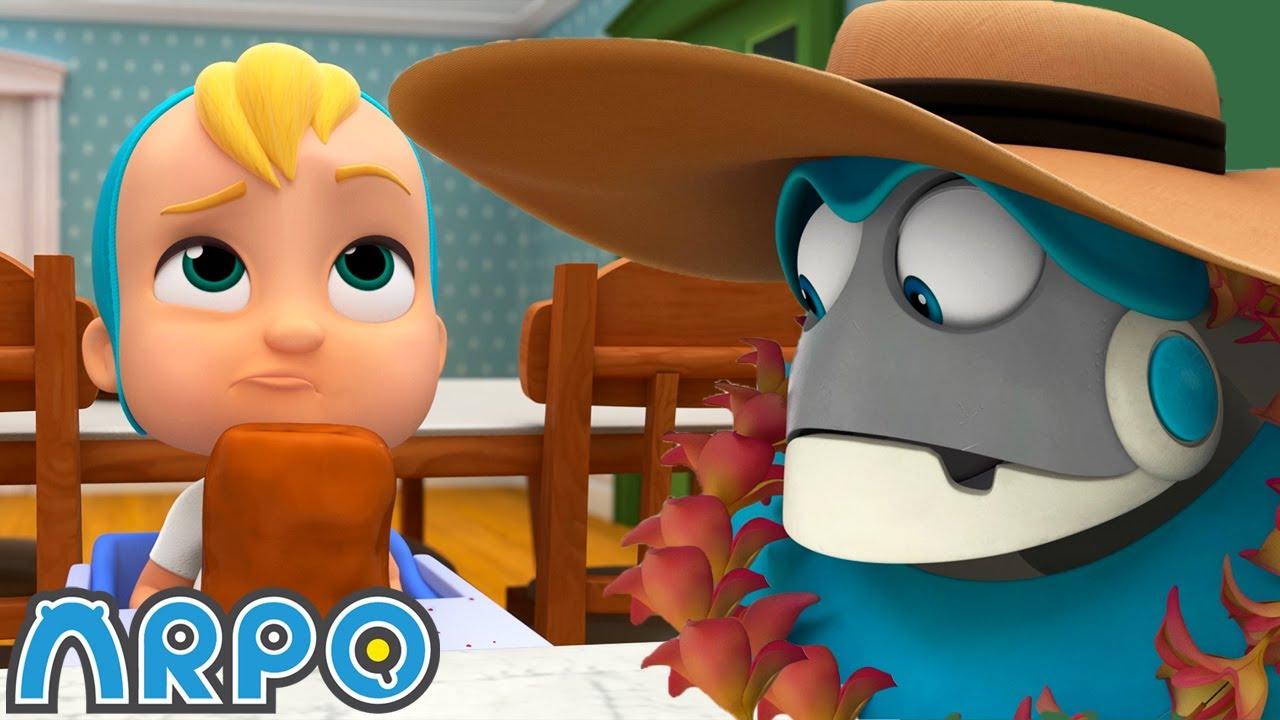 Arpo the Robot | Sleep Walking Robot | NEW VIDEO | Funny Cartoons for Kids | Arpo and Daniel
